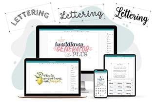 Your Handlettering Generator Designing Printing