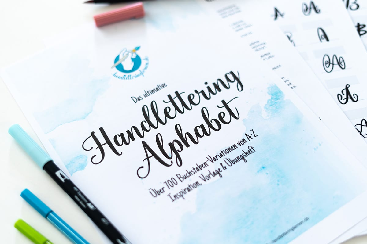 The ultimate handlettering alphabet