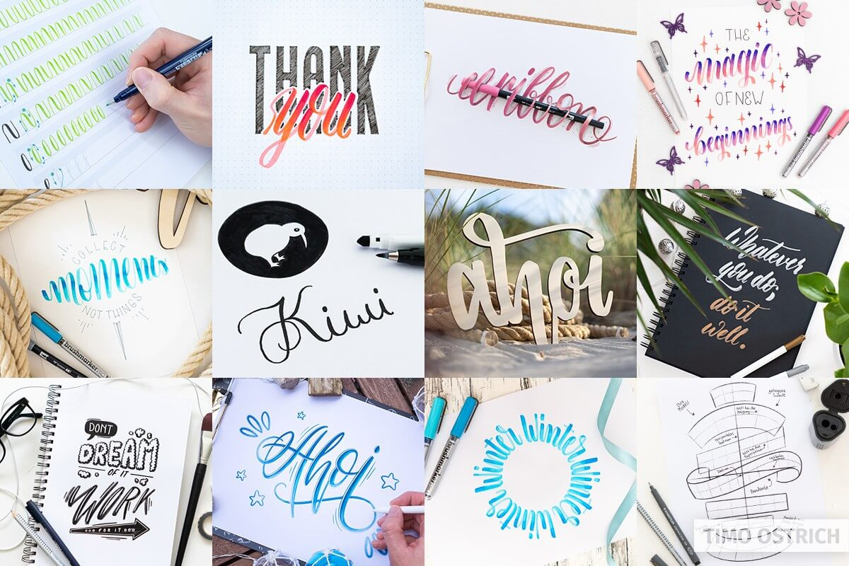 Learn lettering now