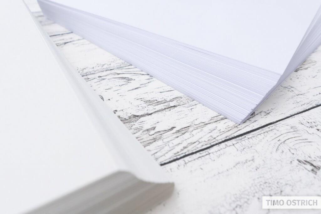 Brush lettering paper