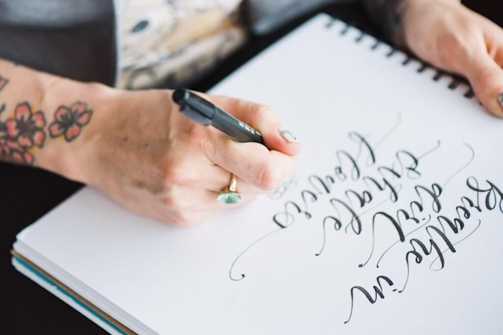 Brush Lettering: The Beginner's Guide by Peggy Dean