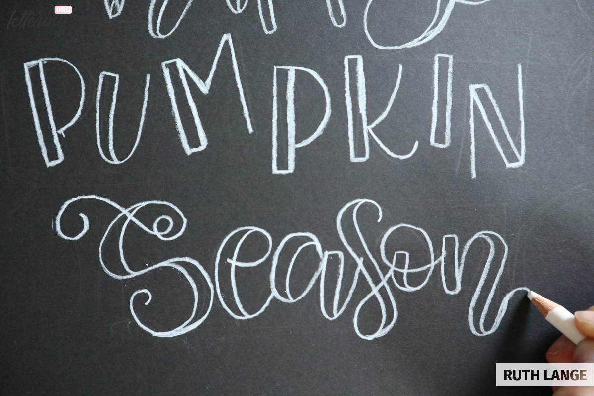 Drawing the word season