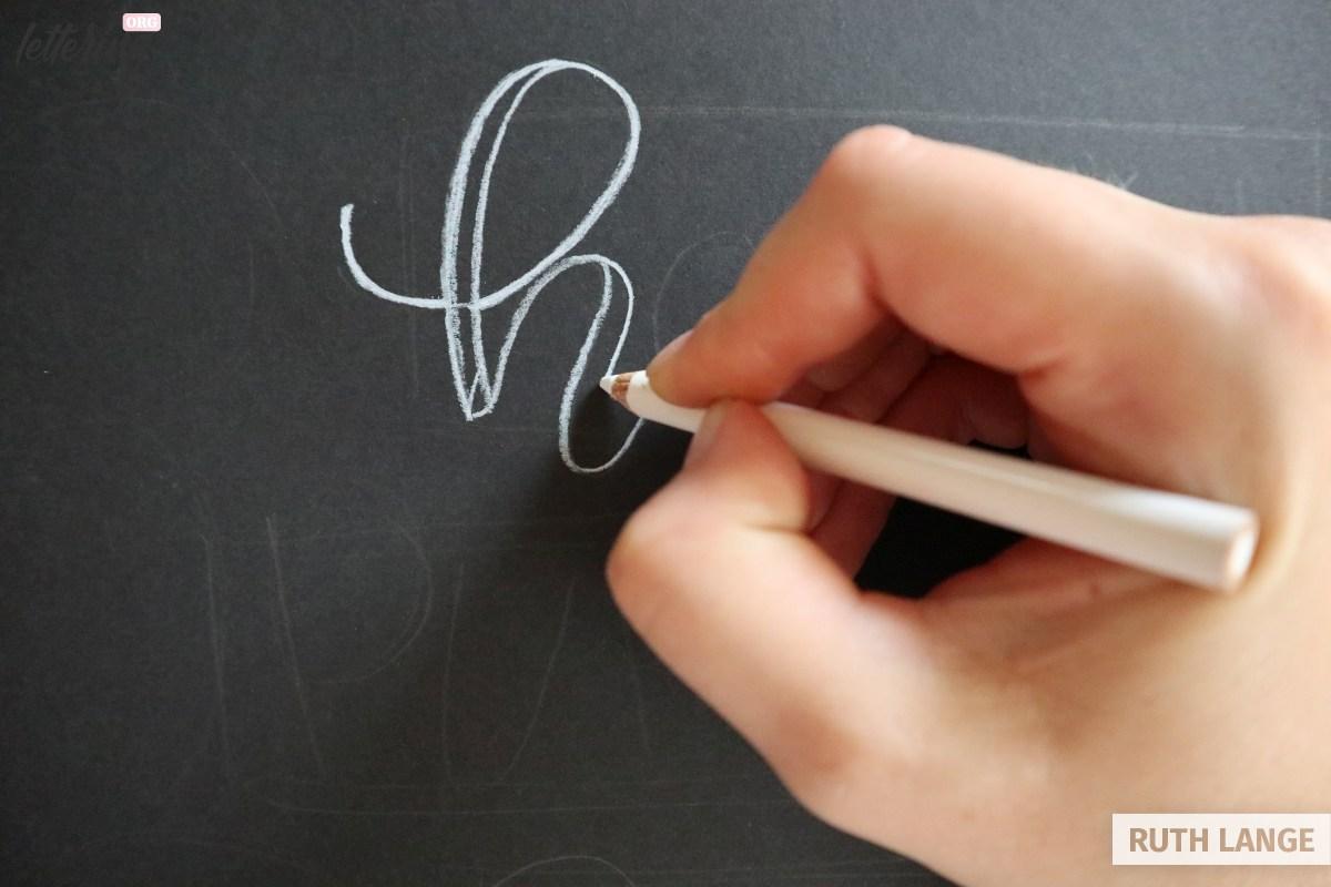 Start lettering