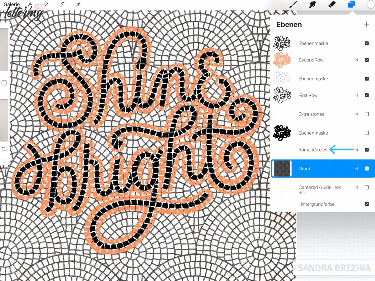 Add a fauxsaic pattern