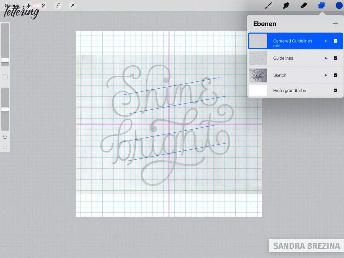 Prepare your sketch in Procreate