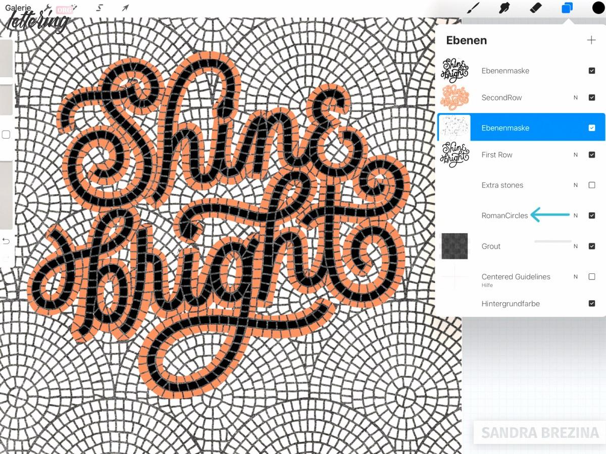 Refine your fauxsaic pattern