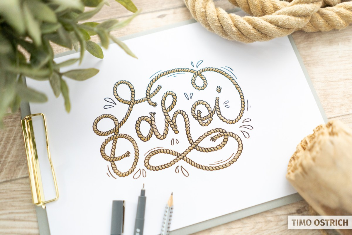 Rope Lettering