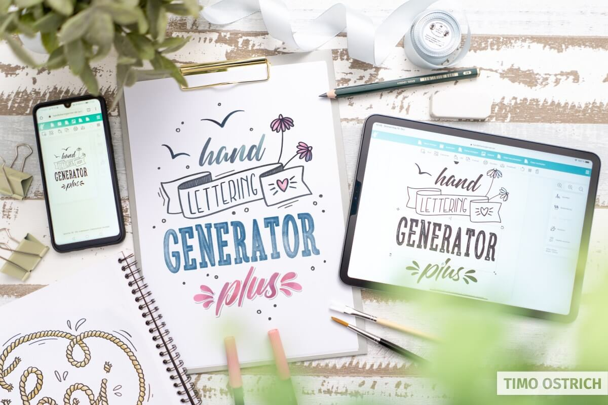 Lettering generator
